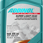 Addinol Super Light MV 0546 5W-40 1л